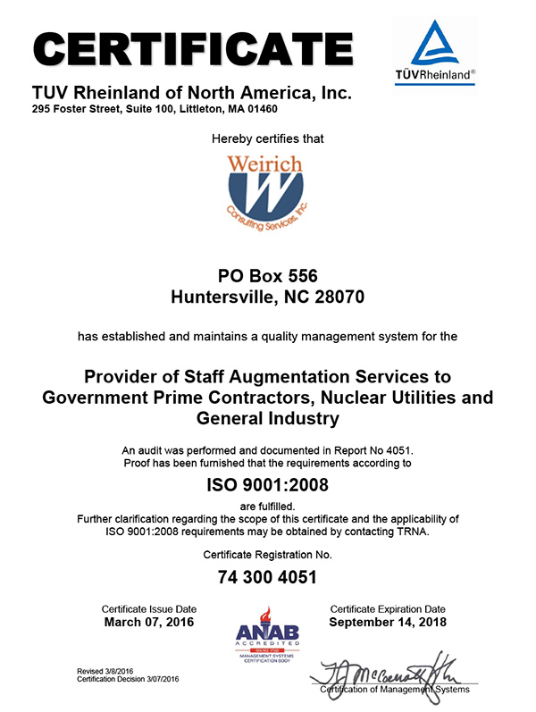 4051WeirichConsulting9001A4Cert Reduced600px
